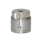 Stainless Steel Micro-Adjustable Bullet Seater Cap